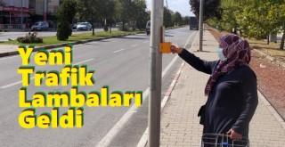 Karaman'daki trafik yoğunluğu için yeni lamba uygulaması