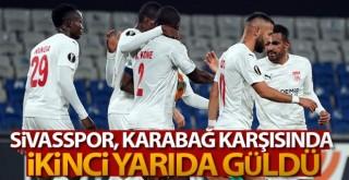 UEFA Avrupa Ligi Sivasspor 3-2 Karabağ