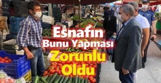 Karaman'da Pazar Yerleri İçin Yeni Kovid-19 Kararı!