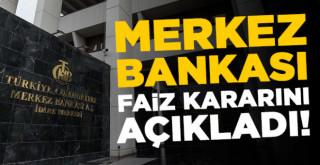 Merkez Bankası faiz kararını açıkladı 21 Ekim 2021