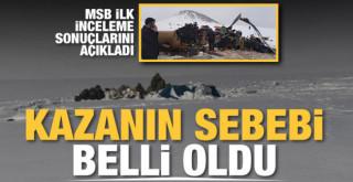 Bitlis'teki helikopter kazasının sebebi belli oldu