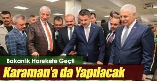 Karaman'a yeraltı barajı yapılacak! İşte tarihi
