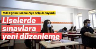 Liselerde sınavlarda yeni düzenleme! Bakan Selçuk duyurdu