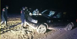 Projektörle yasa dışı ava 16 bin lira ceza