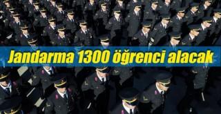 Jandarma 1300 öğrenci alacak! şartlar ve tarihi