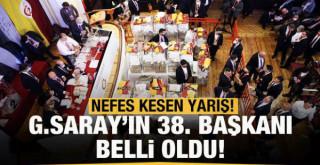 Galatasaray'ın 38. başkanı Burak Elmas!