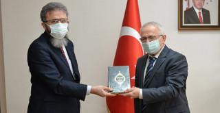 Karaman İl Müftüsü Ketenci'den Rektör Ak'a Ziyaret