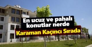 Ev alacaklar dikkat! Türkiye'de en pahalı ve en ucuz konutlar hangi illerde?