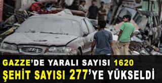 Gazze'de şehit sayısı 227'ye yükseldi