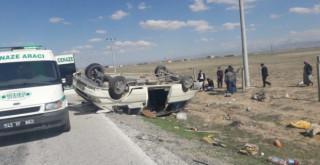 Ereğli'de minibüs koyun sürüsüne çarptı: 1 ölü, 7 yaralı