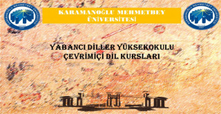KMÜ'den Çevrimiçi Yabancı Dil Kursu