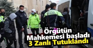 Karaman'da organize örgütün mahkeme süreçleri başladı: 3 tutuklu