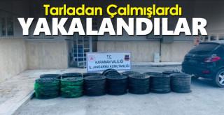 Karaman'da Hırsızlık! Tarladan Çaldılar Kıskıvrak Yakalandılar