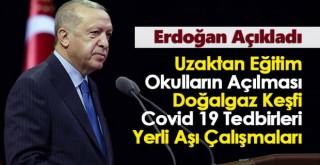 Kabine Toplantısı Sonrası Erdoğan'dan Önemli Açıklamalar